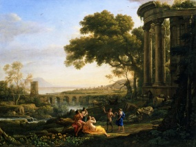 Claude_Lorrain_-_Landscape_with_Nymph_and_Satyr_Dancing_-_Google_Art_Project