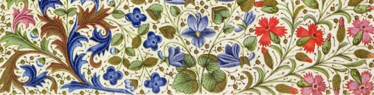 Ms 2617 Emilia in her garden, Plate 22, from 'La Teseida', by Giovanni Boccaccio (1313-75), 1340-41 (vellum)