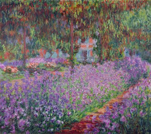 the-artists-garden-at-giverny-claude-monet